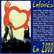 802 // ENFOIRES EN 2000  CD EN TBE