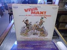 Soundtrack Viva Max vinyl LP 1970 RCA Records EX [Al Hirt Hugo Montenegro]