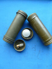 Set Off 2 Spare Light Tubes with Bulbs For Quad Mount M45 M2HB Cal .50 BMG