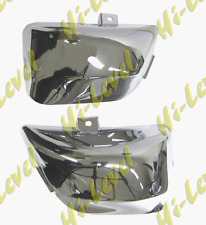 YAMAHA XV535 VIRAGO 1994 - 2003 XV535 CHROME SIDE PANELS - BC31088 - PAIR - T