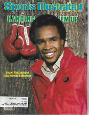 SPORTS ILLUSTRATED - RETIREMENT OF  SUGAR RAY LEONDARD  FROM  NOVEMBER 15, 1982