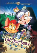 PRE ORDER: CATS DON'T DANCE - DVD - Region Free - SEALED