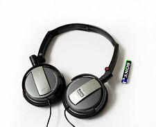 Sony MDR-NC7 Foldable Active Noise Cancelling On-Ear Headphones - Black MDRNC7/B