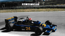 9x6 Photograph Eddie Cheever ,F1 Hesketh 308E ,South African GP , Kyalami 1978 ,