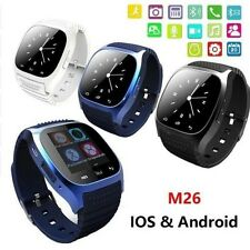 Bluetooth Smart Wrist Watch M26 Sync For Android iPhone etc