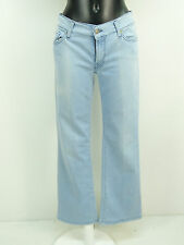 7 SEVEN FOR ALL MANKIND JEANS W31 / HELLBLAU & BOOTCUT    ( L 1075 )