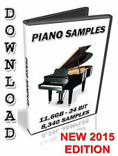 PIANO SAMPLES - STEINBERG - HALION - CUBASE - NUENDO -  FXP - DOWNLOAD - 24 BIT