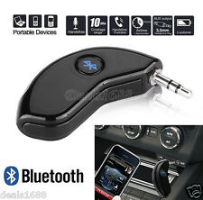 Wireless Bluetooth Sistema Hands-free Adattatori 3.5mm AUX Audio Stereo Auto