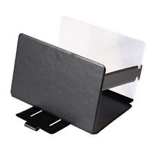 3D Leather Enlarged Screen Portable Folding Stand   For All Smart Mobile Phones