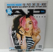 HEY VIOLET AP ALTERNATIVE PRESS MAGAZINE March 2017 Issue 344 Cover 2 Broad