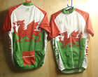 PRO VISION WELSH S/S CYCLING JERSEY M/3XL UK P&P FREE