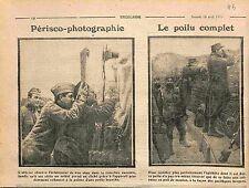 Poilus Photographe Périscope Photographie Bataille de la Marne Mouton WWI 1915