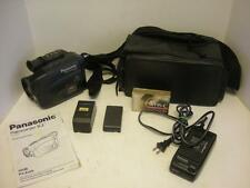 Panasonic PV-A226 Color View Palmcorder IQ VHS-C Camcorder Case Charger Bundle