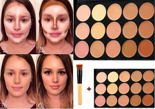 15 colors Concealer palette kit with brush face makeup contour cream Palette