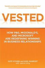 Vested: How P&G, McDonald's, and Microsoft are Redefining Winning in Business R