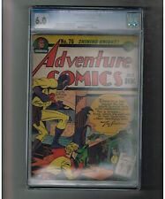 ADVENTURE COMICS #76 CGC 6.0 Amazing Gold Age find from DC!