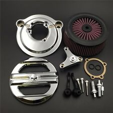 Chrome Skull Grille Air Cleaner Kit For Harley 2007-later XL Iron 883 XL883N