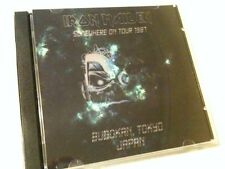 Iron Maiden Double CD Budokan Tokyo Japan Somewhere In Time Tour 1987
