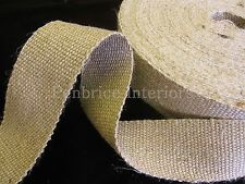 3 mts of  STRONG  jute upholstery chair webbing seat seating tape - 2 inch 11lb