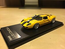 LAST BATCH! HPI 8444 1/43 Ford GT FordGT GT40 Concept Resin Model Yellow Le Mans