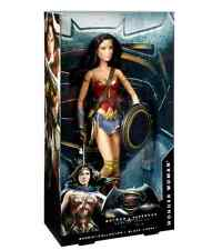 "Wonder Woman Barbie Doll 12"" Mattel Collector Ed Batman v Superman Comics DC"