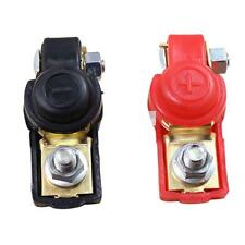 2* Adjustable Battery Terminal Clamp Clips Negative Positive for Auto Car Truck