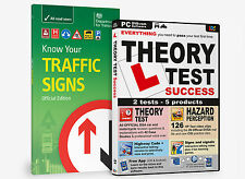 KNOW YOUR TRAFFIC SIGNS & DRIVING THEORY TEST SUCCESS DVD ROM 2016 BNIB