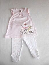 Baby Girls Clothes 3-6 Months - Pretty Hare Bunny Outfit - Top & Leggings