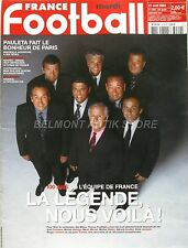 France Football n°3029 - 2004 - Pauleta - 100 ans de l'équipe de France - Nantes