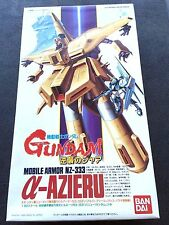 Gundam Vintage 1/550 Char's Counter Attack Alpha Azieru NZ-333 Mobile Armor NEW