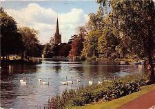 B66759 England Stratford Upon Avon Swans Holy Trinity Church  uk
