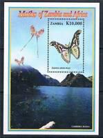 Zambia 2005 Butterflies & Moths MS SG 963 MNH