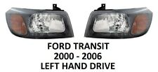 FORD TRANSIT FRONT PAIR HEADLAMPS HEAD LAMP LIGHT LIGHTS HEADLIGHTS 2000-2006 H4