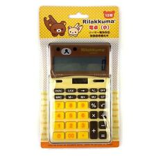 San-X Rilakkuma 12 Digits Calculator : Yellow