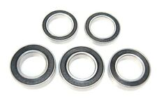 Pack of 5 6902 61902 15x28x7mm 2RS Thin Section Deep Groove Ball Bearing