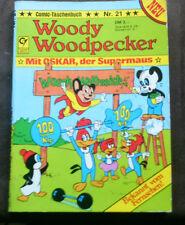 Condor  Comic Taschenbuch  WOODY WOODPECKER Nr. 21   (1981)