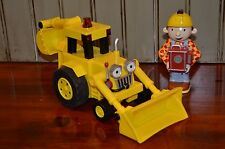 """Bob the Builder  Remote Control """"Follow Me"""" Scoop Learning Curve tractor backhoe"""
