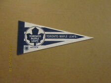 NHL Toronto Maple Leafs 1991 4x10 Mini Logo Pennant