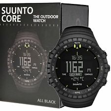 Suunto Core All Black Outdoor Watch with Altimeter Baromete Compass SS014279010