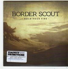 (FG276) Bordr Scout, Hold Your Fire - 2014 DJ CD