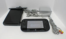 Nintendo Wii U (Latest Model)- Deluxe 32GB Black Handheld System WUP-010 WUP-101