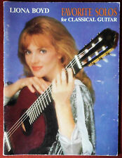Liona Boyd * Favorite Solos for Classical Guitar * Noten für Gitarre