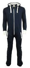 Unisex Women Men Plain Onesie Playsuit Ladies All in One Jumpsuit
