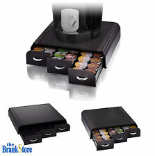 Coffee Pod Holder 36 K Cup Storage Rack Cups Drawer Organizer Keurig Black
