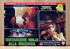 TARTARUGHE NINJA ALLA RISCOSSA fotobusta poster Teenage Mutant Ninja Turtles