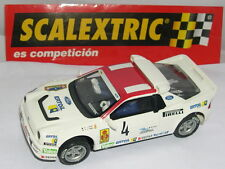 SCALEXTRIC SPAIN PLANETA RALLIES MITICOS FORD RS 200 #4  ZANINI  LTED.ED.  MINT