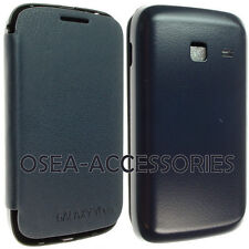 Samsung Galaxy Y Duos S6102 Batteria Posteriore Custodia Cover In Pelle