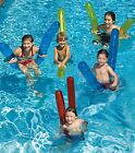 "Swimline 9008 Doodles Inflatable Pool Float Noodles 72"" 6pk Water Noodle Aerobic"