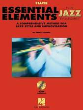 Essential Elements for Jazz Ensemble, Book/2-CD Pack - Flute