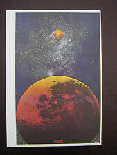 VINTAGE PETER MAX ART POSTER PRINT ~ Outer Space & pics The Beatels, Elvis, more
